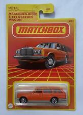 Matchbox Mercedes Benz S 123 station wagon