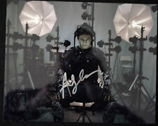 ANDY SERKIS SIGNED 'STAR WARS-THE FORCE AWAKENS' -  250mm x 200mm