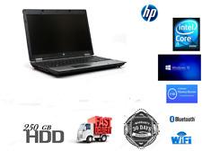 """HP ProBook 6550b 15.6"""" Laptop Intel Core i5 M520 4GB RAM 250GB HDD Win 10 Pro"""