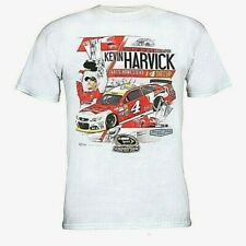 Kevin Harvick 2014 Sprint Cup Champion Chase White T-shirt Adult XL # 4