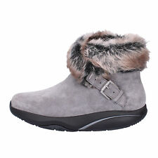 women's shoes MBT 6 (EU 37) ankle boots gray suede fur AB219-B
