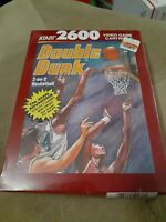 DOUBLE DUNK for ATARI 2600 ▪︎ FACTORY SEALED ▪︎ FREE SHIPPING ▪︎