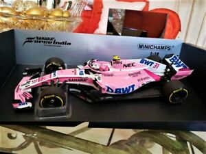 Esteban Ocon Force India Mercedes VJM11 Formel 1 Saison 2018 Minichamps Esc 1/18