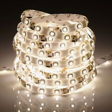 Waterproof Flexible 12V Led Strip Lights 3528 SMD Warm White 300 LEDs 5M Roll UK