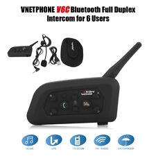 VNETPHONE V6C Multi-Use 1200M Interphone Intercom Headset Headphone Kit ha