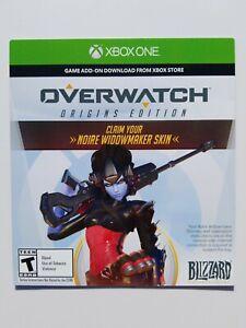 Noire Widowmaker Skin DLC in Overwatch XBOX ONE