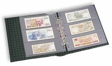 Leuchtturm NUMIS Banknotenalbum im Classic-Design grün