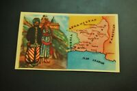 Vintage Cigarettes Card. Balochistan (Iran- PAKISTAN). WORLD'S REGIONS