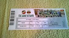 Ticket Rapid Wien SCR Altach 2019 Fussball Karte Rapid Bundesliga ÖFB Sport TOP