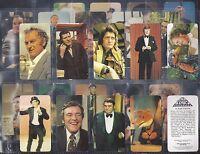 GOLDEN WONDER-FULL SET- TV ALL STARS (24 CARDS) - EXC