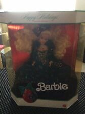 1991 Happy Holidays Barbie Rare NIB