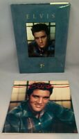 Elvis: A Tribute to His Life 1989 Book • Elvis Presley 1989 Calendar • Lot of 2