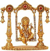 God Ganesha Idol Murti Statue Showpiece Gift Item For Car Dashboard Diwali Puja