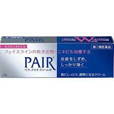 Lion Acne W Pair acne cream W 14g Medicated Treatment Care Cream