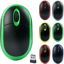 2.4GHz Mini portable Wireless Optical 3D Gaming Receiver Mice Game Mouse For PC