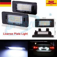 LED Kennzeichen Nummernschild Kennzeichenbeleuchtung for BMW E39 E60 E61 E90 E92