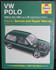 VW Polo 1982 to Oct 1990 Up To H Reg Petrol Haynes Service Manual Volkswagen