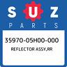 35970-05H00-000 Suzuki Reflector assy,rr 3597005H00000, New Genuine OEM Part