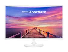 Monitor PC Samsung 32 pollici Curvo Full HD 200 cd/m2 Bianco LC32F391FWUXEN