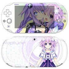 Skin Decal Sticker For PS Vita Slim 2nd Gen PCH-2000 Series - Neptune #08 + Gift