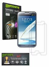 KRYPTONITE Samsung Galaxy Note 2 Tempered Glass Screen Protector (2 Pack)