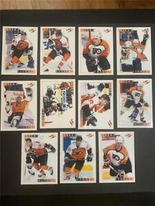 1995/96 Score Philadelphia Flyers Team Set 11 Cards