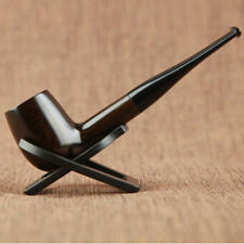 Ebony Pipe Durable Smoking Accessories Wooden Tobacco Cigarettes Cigar Pipes