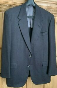 OXXFORD Dark Gray Wool/Cashmere 2-but Men's Dress/Sport Jacket 44R (Bergdorf's)