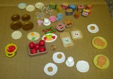 large bundle of old Sylvanian  Familes accessories some rare good condition lot4