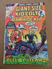 Giant Size Kid Colt  1 . Marvel 1975 . VG