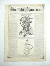 Quilting Frame, Job Press, Stave Cutting, Bottle Faucet, Antique Article 1858