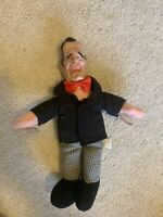 Vintage Ronald Reagan Window Clinger Cling Plush Doll Presidential Memorabilia