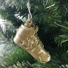 Trainers Creps Christmas Tree Bauble Gold