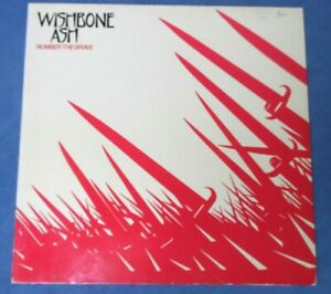 Wishbone Ash - Number The Brave / MCA Records 1981 France Rock LP Inner Sleeve