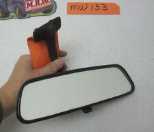1985 85 BMW 735I REAR VIEW MIRROR INTERIOR TRIM GLASS WINDSHIELD 84 86 87 ROOF