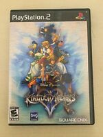 Replacement Case (NO GAME!) Kingdom Hearts II - Sony Playstation 2