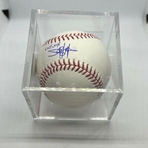 Harold Baines HOF 2019 Autographed Official Hall of Fame Baseball - BAS COA