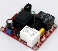 110V/220V Auto Power Delay Soft-start Temperature Protection Board Class A DIY