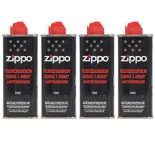 4 x ZIPPO Feuerzeugbenzin Benzin je 125 ml, Benzinfeuerzeug