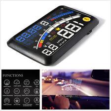 Car HUD Head-Up Display OBD2/EOBD Dashboard Mounted Projector Overspeed Warning