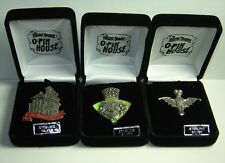 Disney 3 Pins O'Pin House Haunted Mansion Marcasite Sterling Silver LE 50 RARE