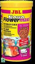 JBL novoflower MAXI 440g / 1L Bastoni per grandi flowerhorn CICHLIDS
