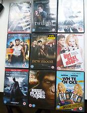 Bundle Of DVDs Xmen Batman Twilight Underworld Planet of the apes White Chicks