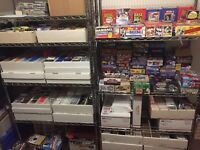 HUGE LOT OF 2500 BASEBALL CARDS! DADS COLLECTION LIQUIDATION FIRE SALE!