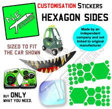 Replacement stickers TO FIT Little Tikes Dino Dinosaur Cozy Coupe car ride on