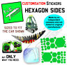N.E.stickers replacements TO FIT Little Tikes Cozy Coupe DINO car ride-on toy