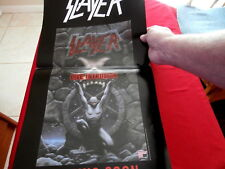Slayer~ Advertisement~ For The First Home Video Ever~ 12 X 24 ~ Collectables