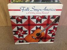 Folk Song America A 20th Century 6x LP EX w/Book 1991 Kingston Trio Doc Watson