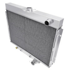 """1967-1970 Ford Mustang High Performance 2 Row Aluminum Radiator 1"""" Tubes"""