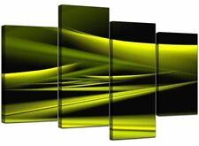 Green Canvas Abstract Art Prints